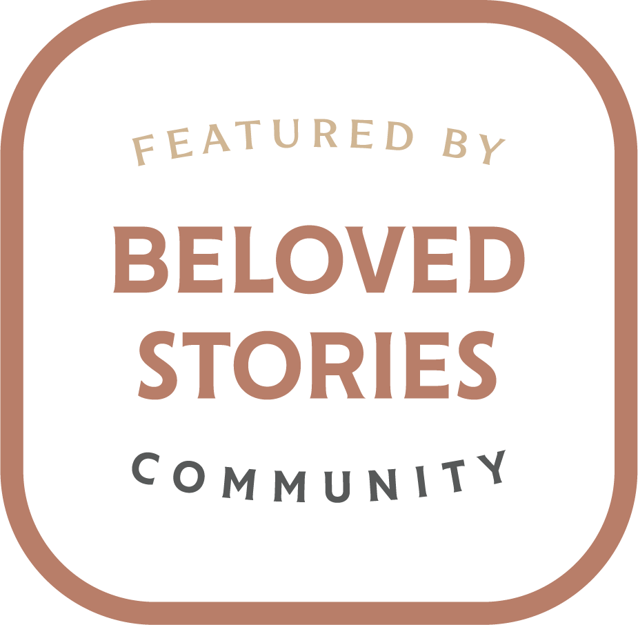 BELOVED STORIES COMMUNITY BADGE FEATURED BY